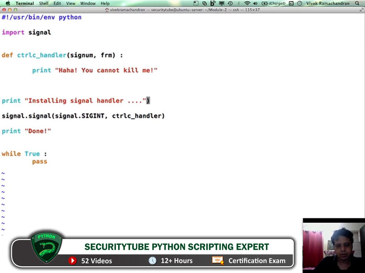 Pentester Academy Ace The Python Certification With