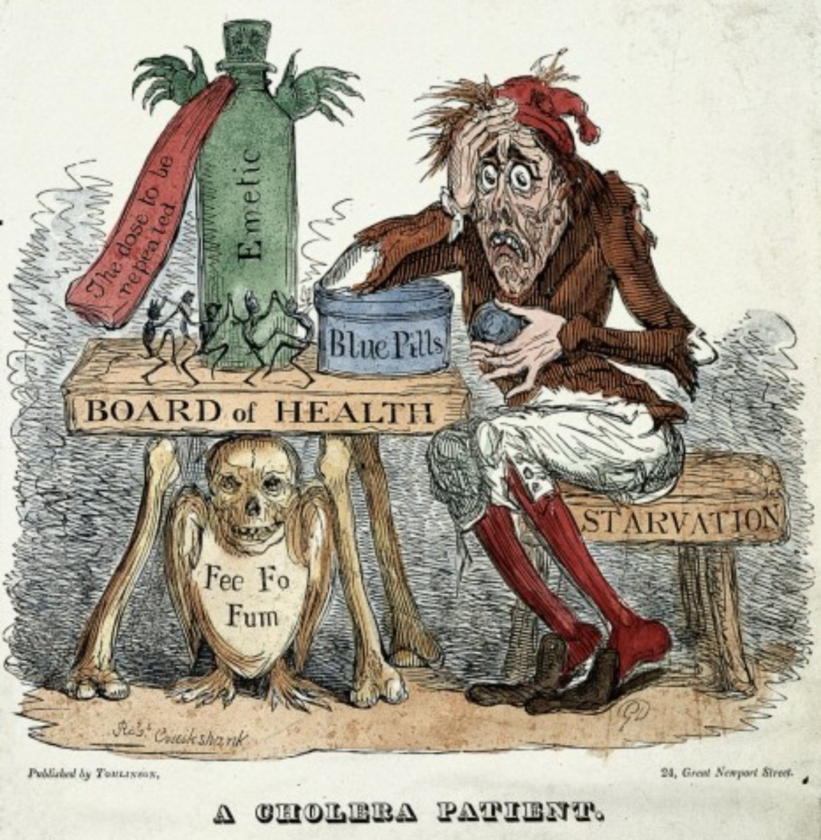RT if you didn't die during the second cholera pandemicof 1829–1837.