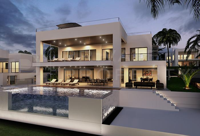 private property on twitter villas in nueva andalucia marbella
