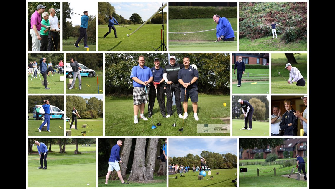 A few quality images by @JuliaHolland from the 2017 Norfolk's celebrity charity golf day @barnhambroom - but next weeks event is going to be even bigger with 30 celebrities from the world of football, rugby, darts, snooker, horse racing & cricket attending ! @Dean36ashton10