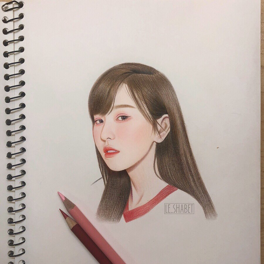 Red velvet Wendy power up fan art! #redvelvet #wendy #레드벨벳 #RedVelvetfanart #wendyfanart