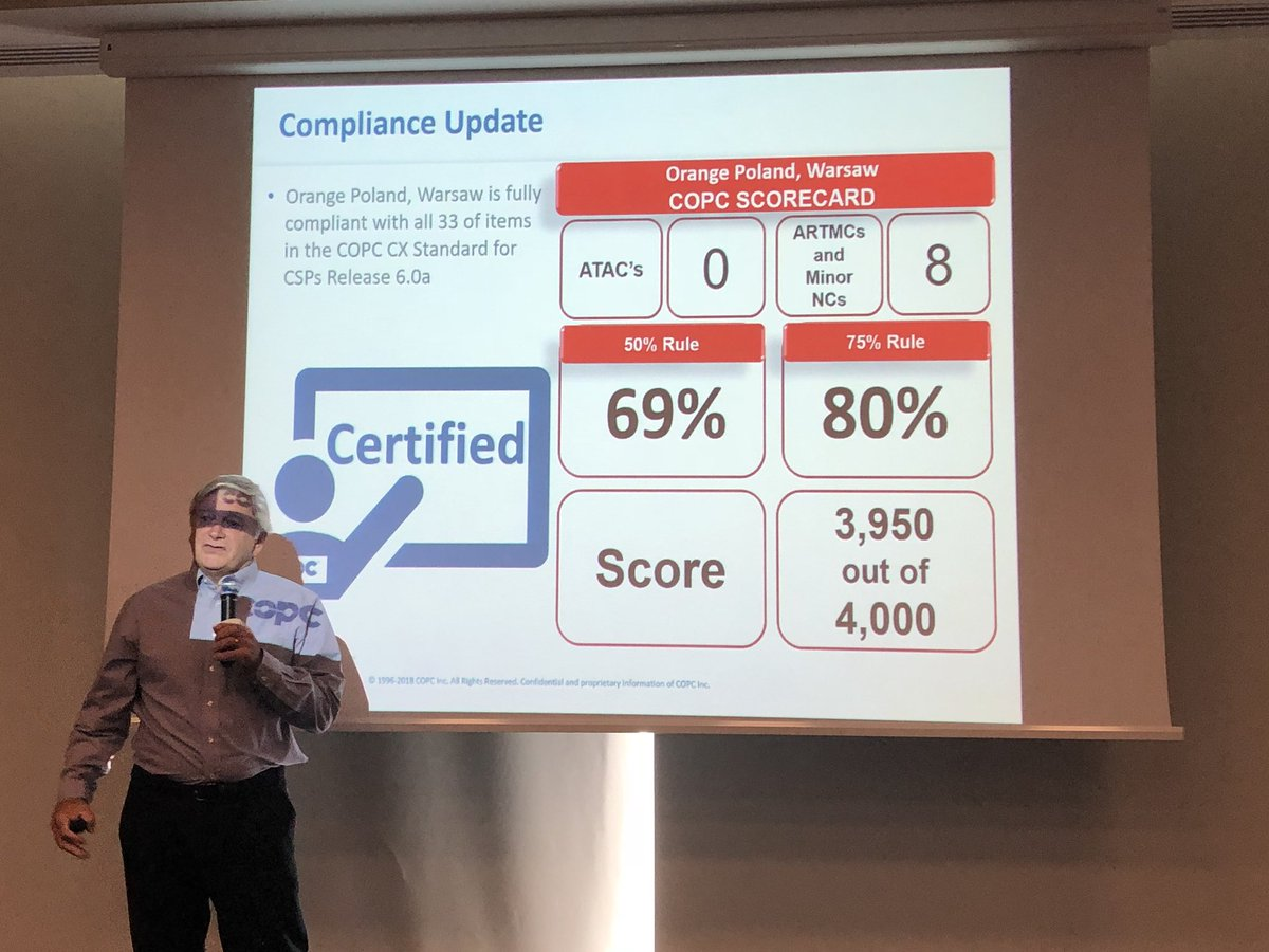 Marek Grabowski On Twitter Just Received Copc Certification For