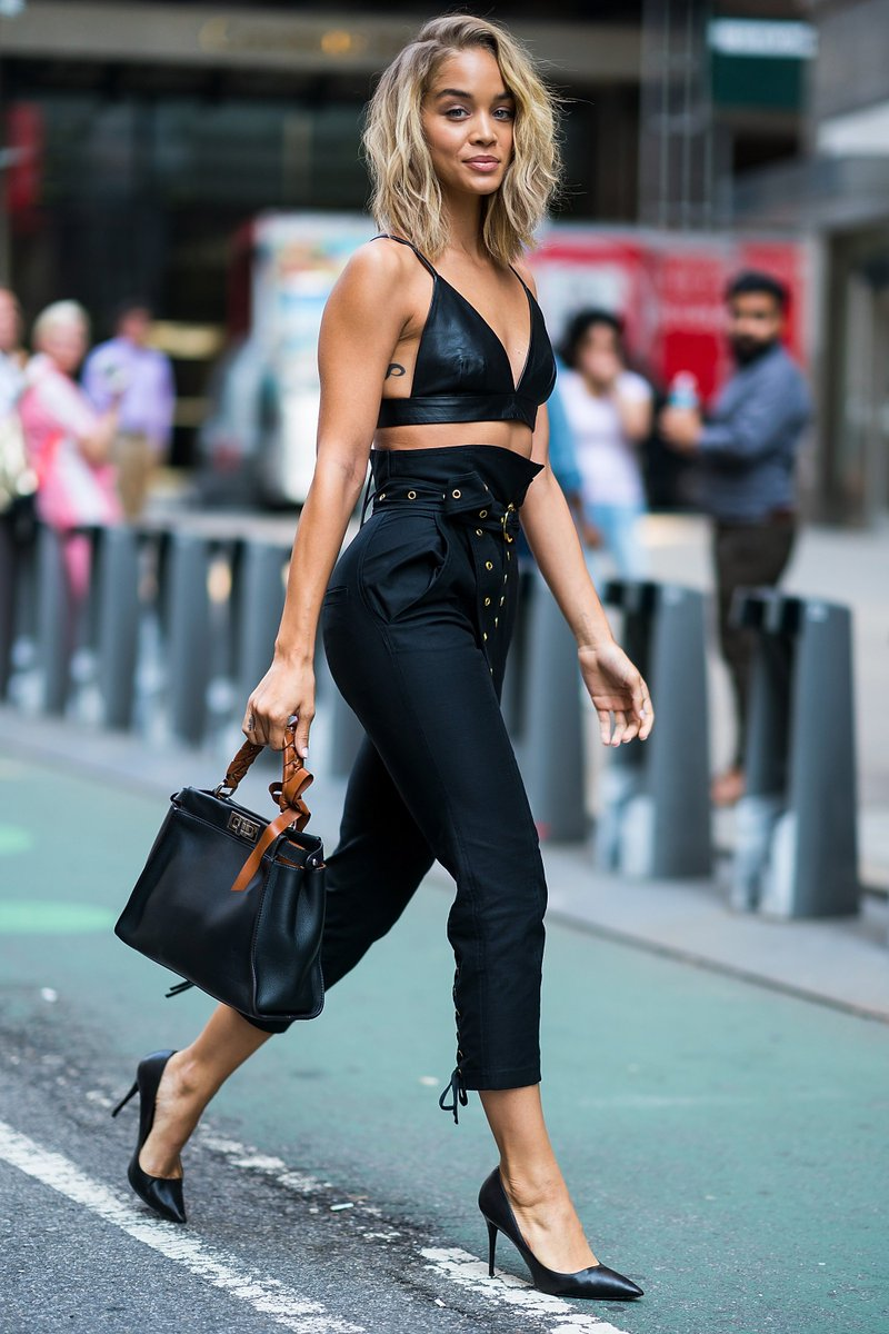 a07907140f9 jasmine sanders with the fendi peekaboo meandmypeekaboo fendipeekaboo