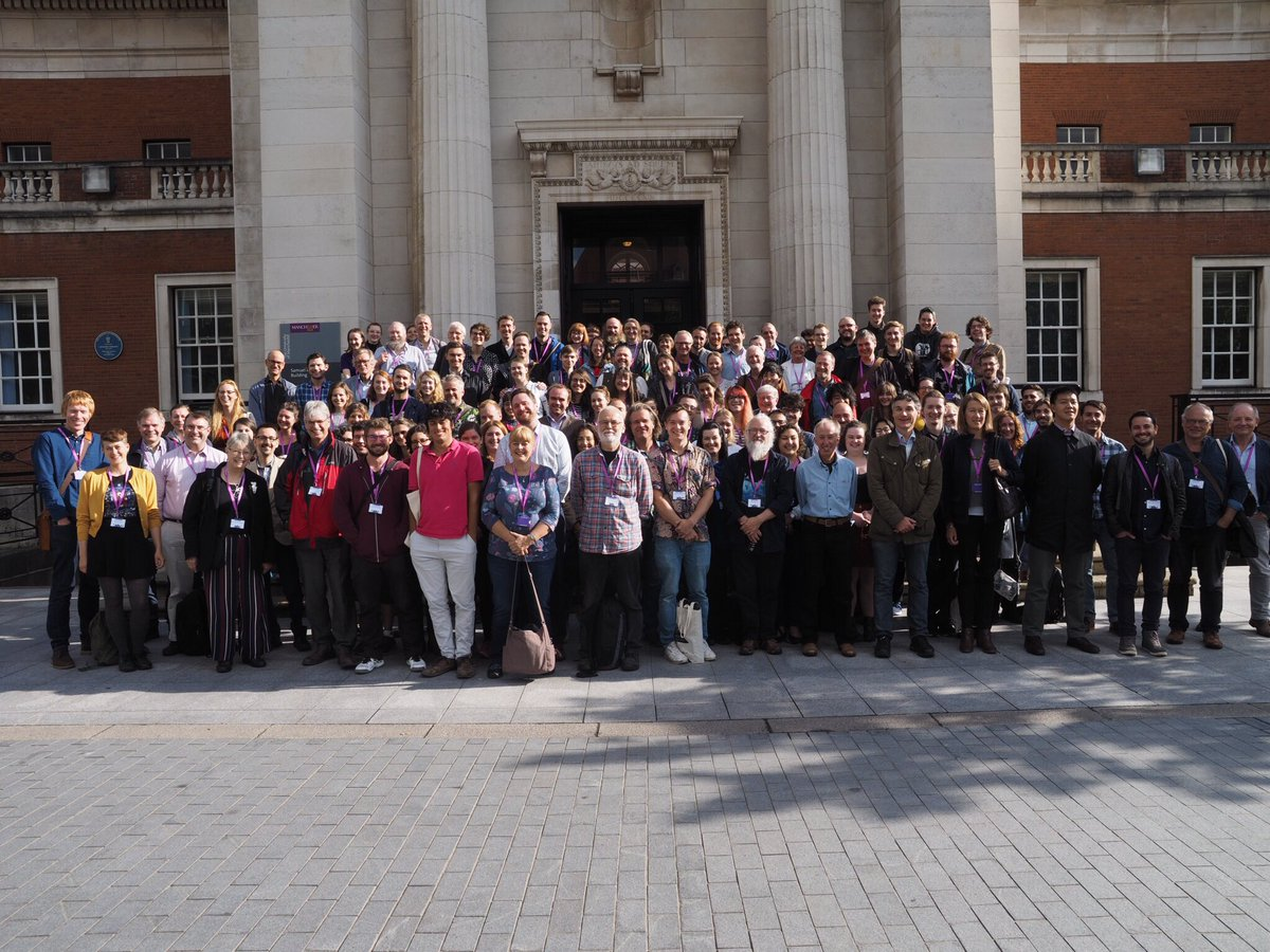 Symposium photograph for ⁦@SVPCA_Manc⁩ #svpca2018. This is the low resolution, unedited version. I'll post a better one next week. <br>http://pic.twitter.com/OTCRLvz1bD