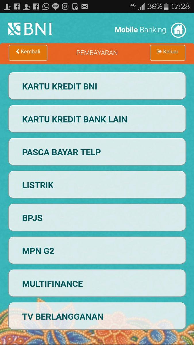 Pt Pln Persero On Twitter Selamat Pagi Bapak Agus Untuk Melalui Bni Mobile Bangking Belum Dapat Ya Untuk Pembayaran Dapat Melalui Transfer Antar Bank Melalui Atm Bersama Dan Melalui Atm Bca Atau