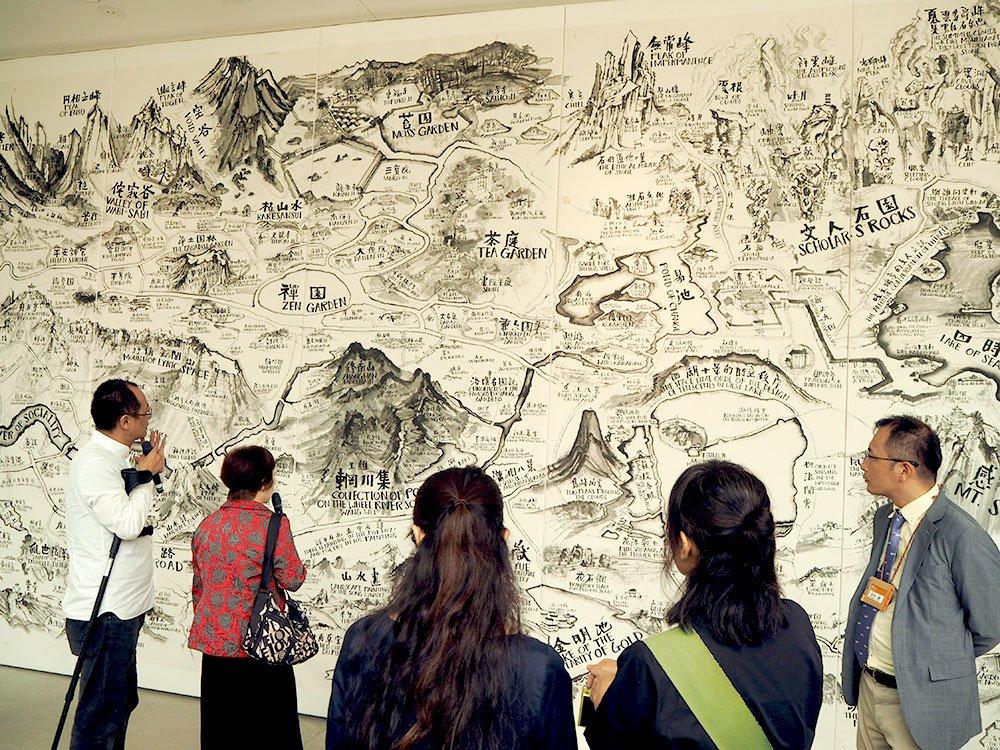 チウ・ジージエ|書くことに生きる | 金沢21世紀美術館 | 石川県 ...