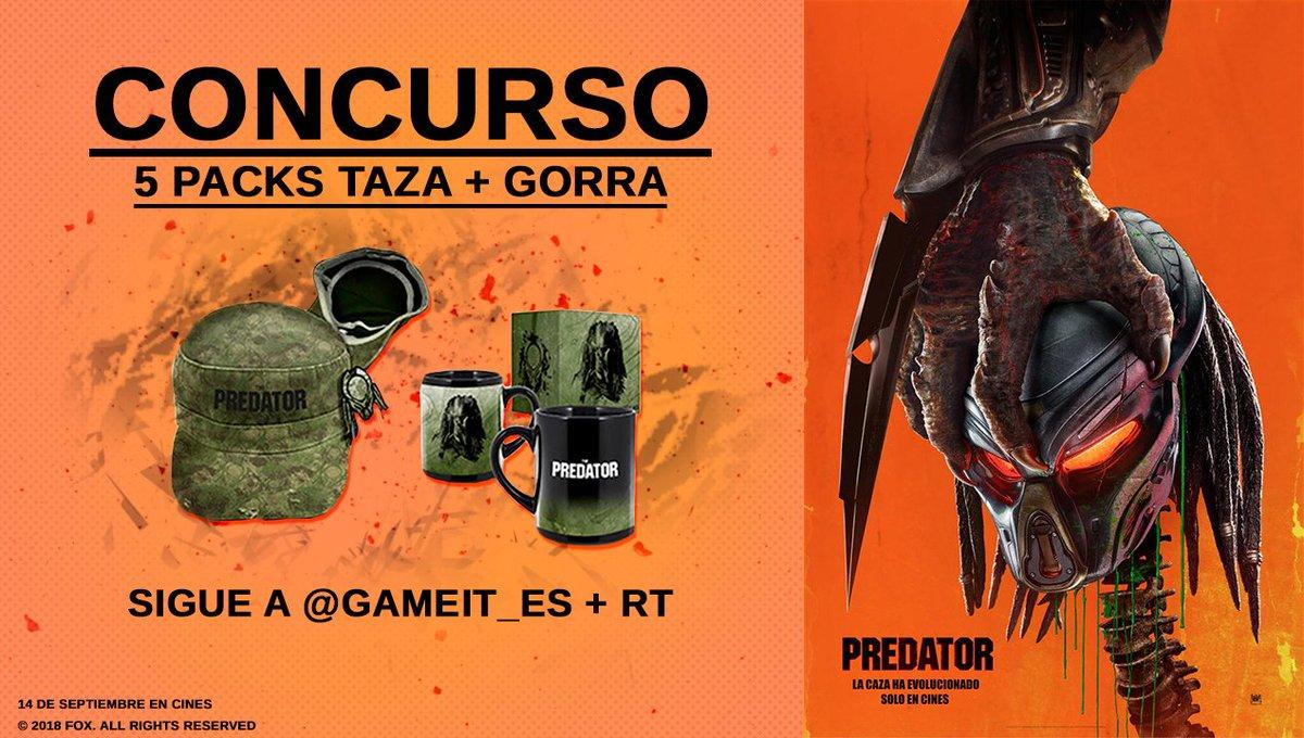 Nuevo sorteo para celebrar el estreno de #PREDATOR, la nueva película de  @20thCFoxSp. ¡5 packs Taza + Gorra!  https://t.co/PM29LiLsmm https://t.co/7Z3JLm1ItK