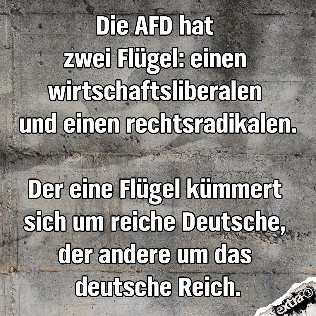 Erkenntnis zum Wochenende. #AfD