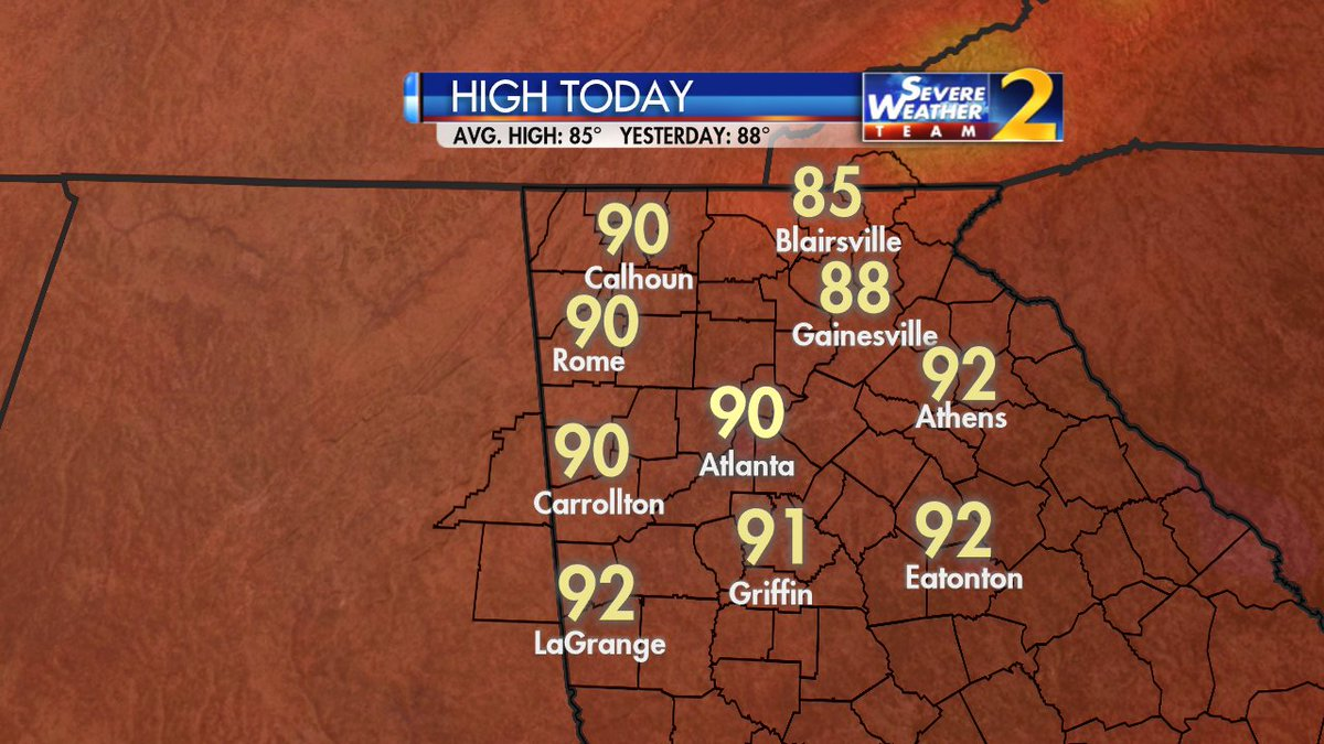 Weather-traffic update: with fewer clouds, metro atlanta to