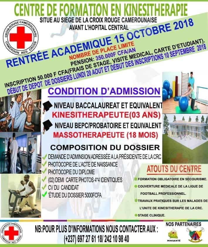 Centre De Formation En Kinsithrapie La CroixRougeCam Infos Et Contacts 697276118 242109840pictwitter RqaX61Snd6