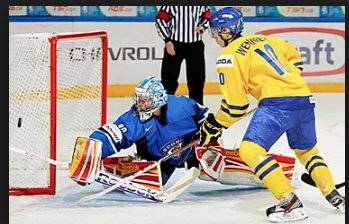 #FridayFunFact Swedish Player Alexander Wennberg actually had a puck lodged inside his pants and scored when he squatted and the puck came out as it went behind the goalie. The goal counted! #JerrysHockey #Wennberg #TrueStory