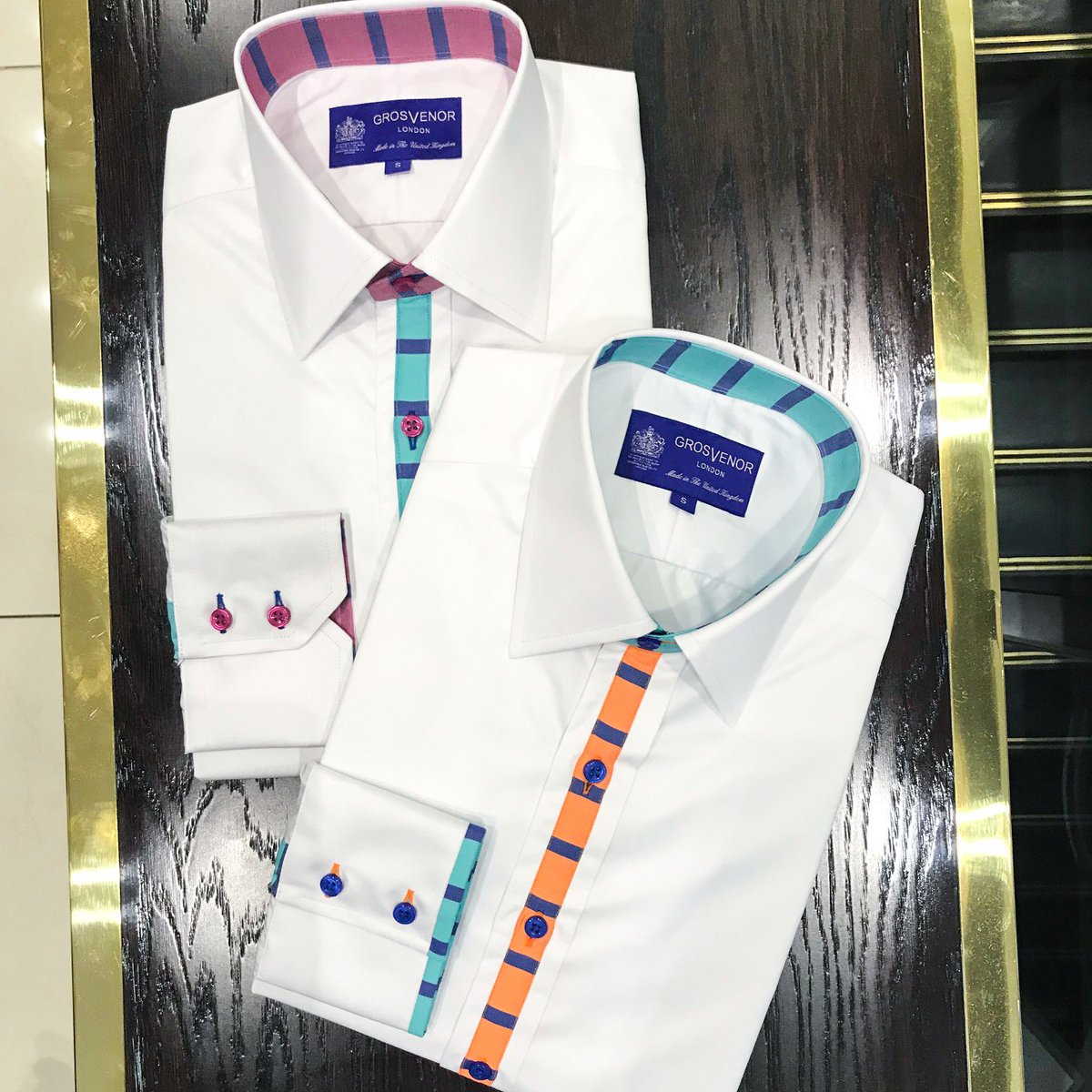 648e32aef95 New AW18 Signature shirts in store now. Come check them out.   grosvenorshirts  jermynstreet  mensstyle  mensfashion   madeinukpic.twitter.com mH8lgAfHIR