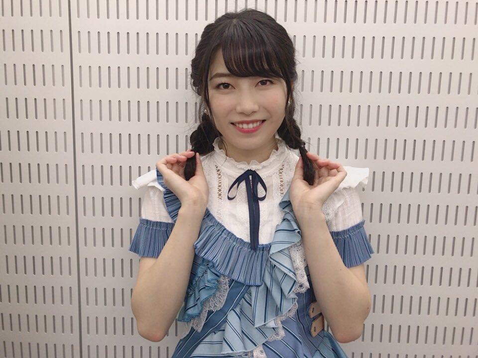 三つ編みいかがですか、、?  #AKB48 #センチメンタルトレイン #おかえりなさい