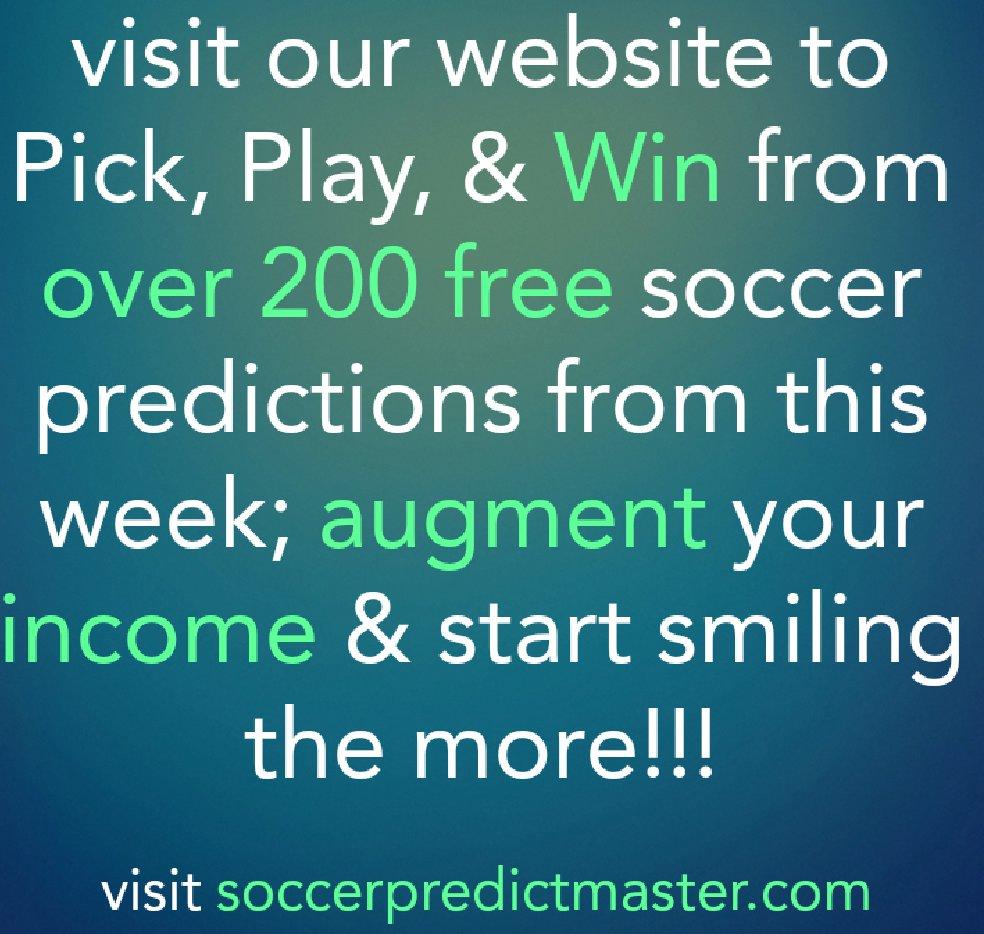 soccerpredictmaster com (@soccerpredictm1) | Twitter