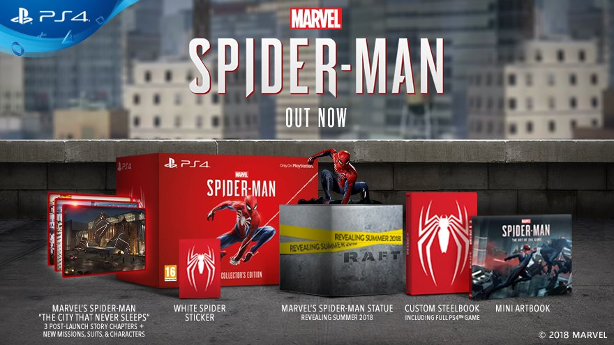 marvels spiderman collectors edition uk