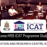 Fantastic ICAT Study Day @RCSI_Irl with talks from our Fellows and workshops on IP and statistics!