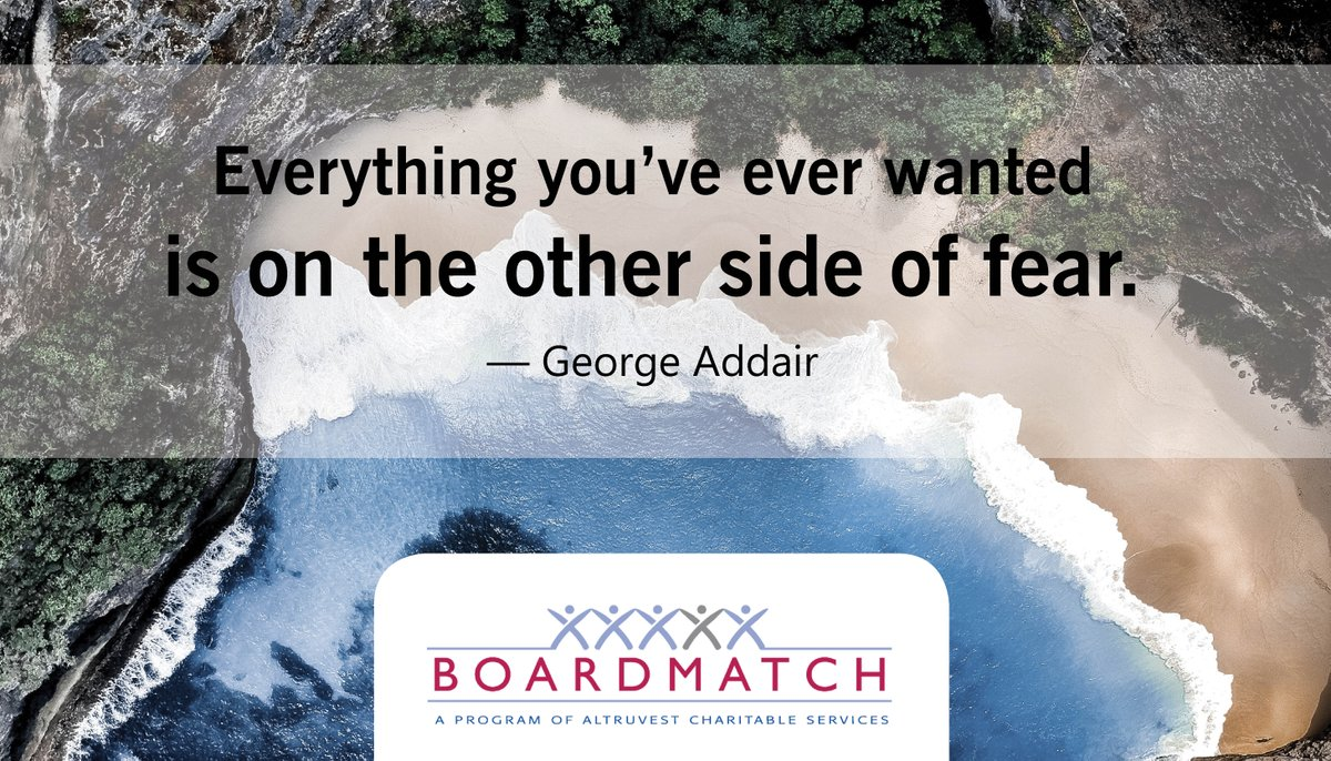 #altruvest #BoardMatch #leadership #improvement #charityCanada #charity #volunteer #leaders #communities #charities #leadershipskills #volunteering #board #toronto #volunteertoronto #volunteertoday #skills #motivation #newweek #newgoals #growth #quotes #fear