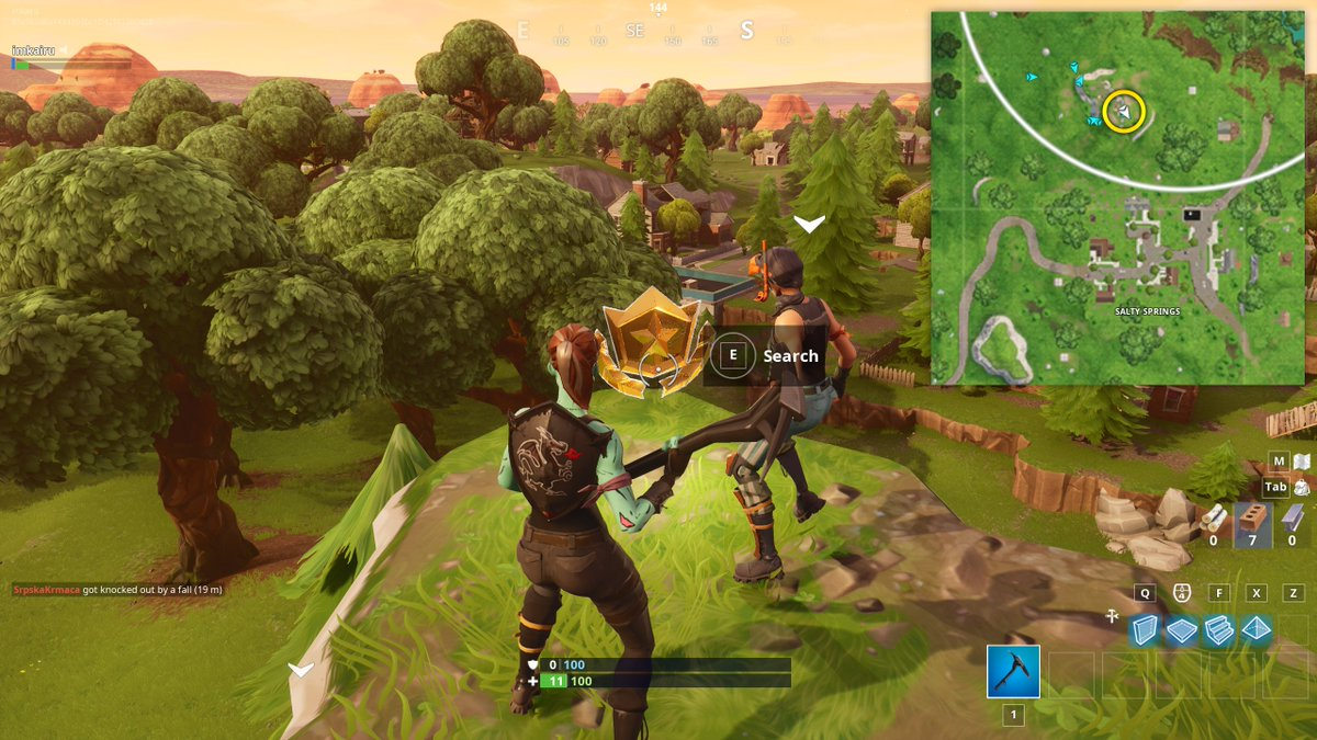 Fortnite News On Twitter How To Solve The Follow The Treasure Map