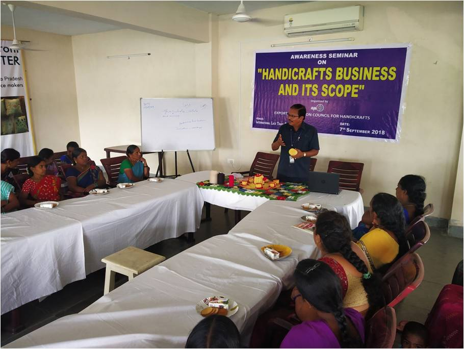 Epch India On Twitter Awareness Workshop On Handicrafts Business