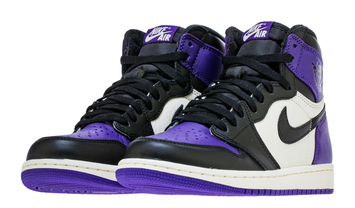 48ca8a9f786 best look yet at the court purple air jordan 1s dropping this month