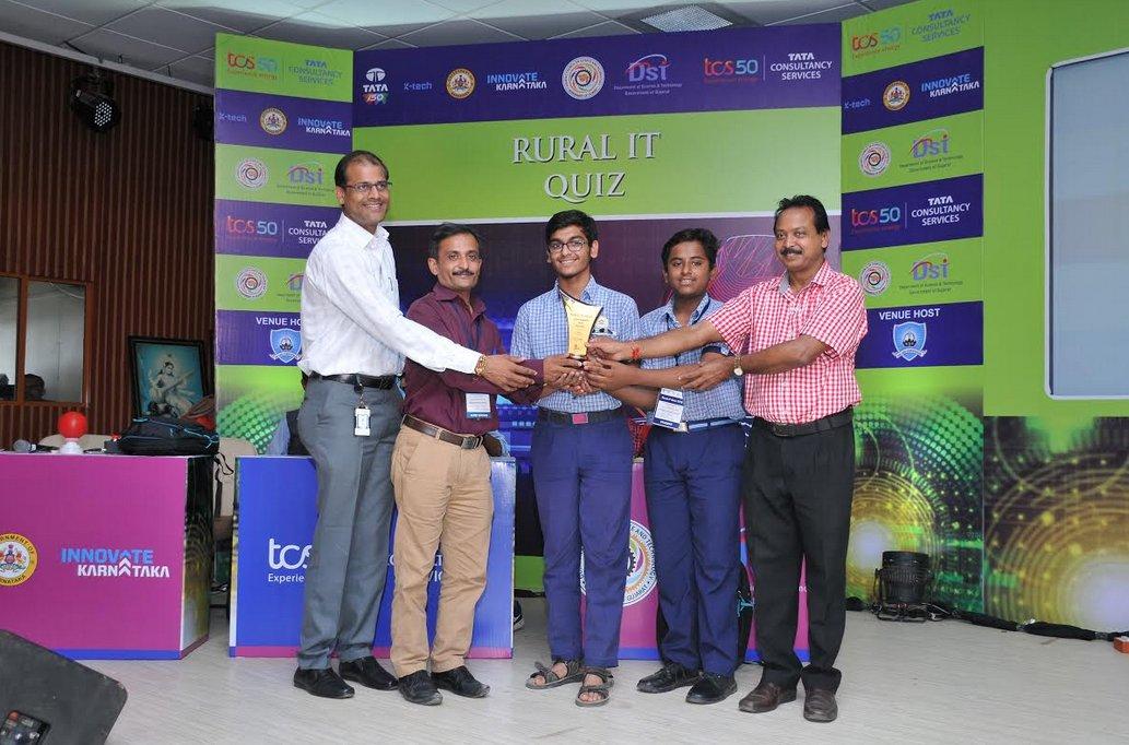 Amrit Vidyalaya, Panchmahal wins Rural IT Quiz Gujarat State Finals