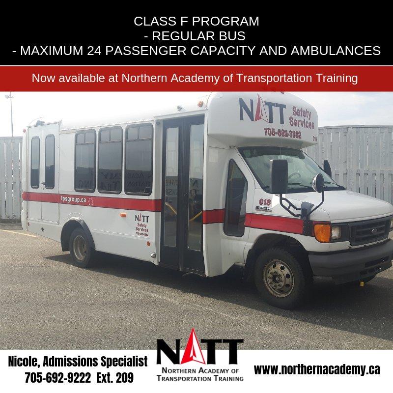 NATT Northern Academy of Transportation Training on Twitter