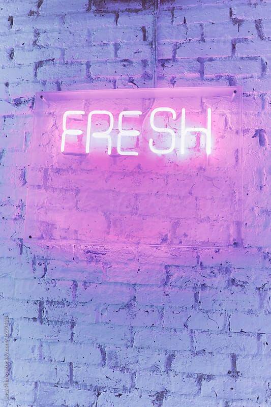a e s t h e t i c on f r e s h lightboard pink