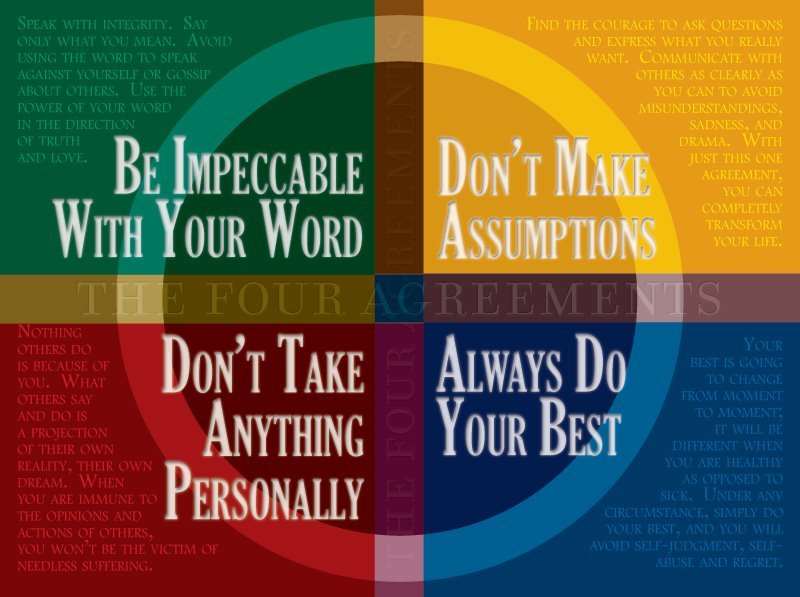 Dr Romie Mushtaq Md On Twitter Be Impeccable With Your Word Don