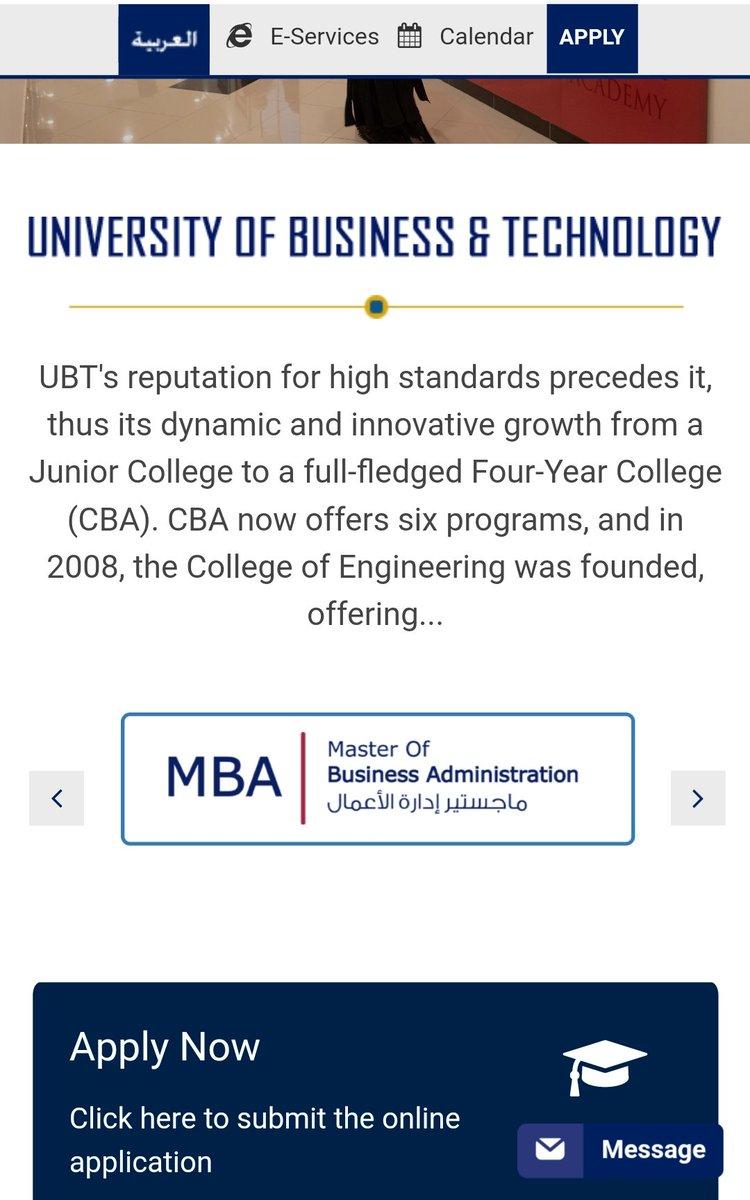 جامعة الأعمال والتكنولوجيا Ubt Auf Twitter جميع التخصصات في هذا الجزء من الموقع كلية الهندسة Https T Co Jps9ljjfbf كلية الاعلان Https T Co B0tp1fnoes كلية القانون Https T Co 87m664dzo4 كلية ادارة الاعمال Https T Co Yqgxnkjrcf Https T Co