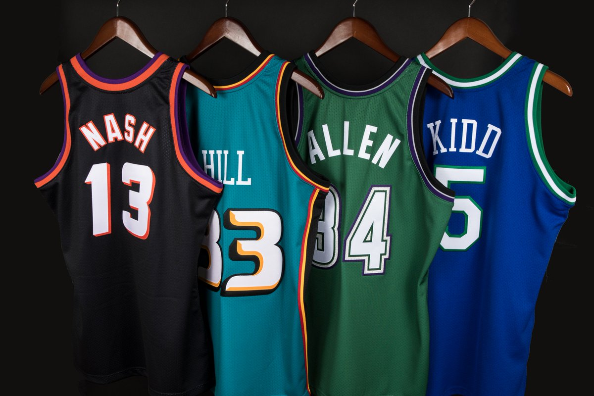 detailed look 3d923 4b8e8 Mitchell & Ness on Twitter: