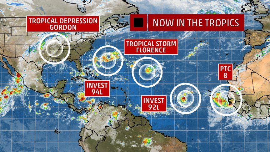FLORENCE: East Coast Threat or Does She Sleep With the Fishes? DmgGxL3X4AUKj6T