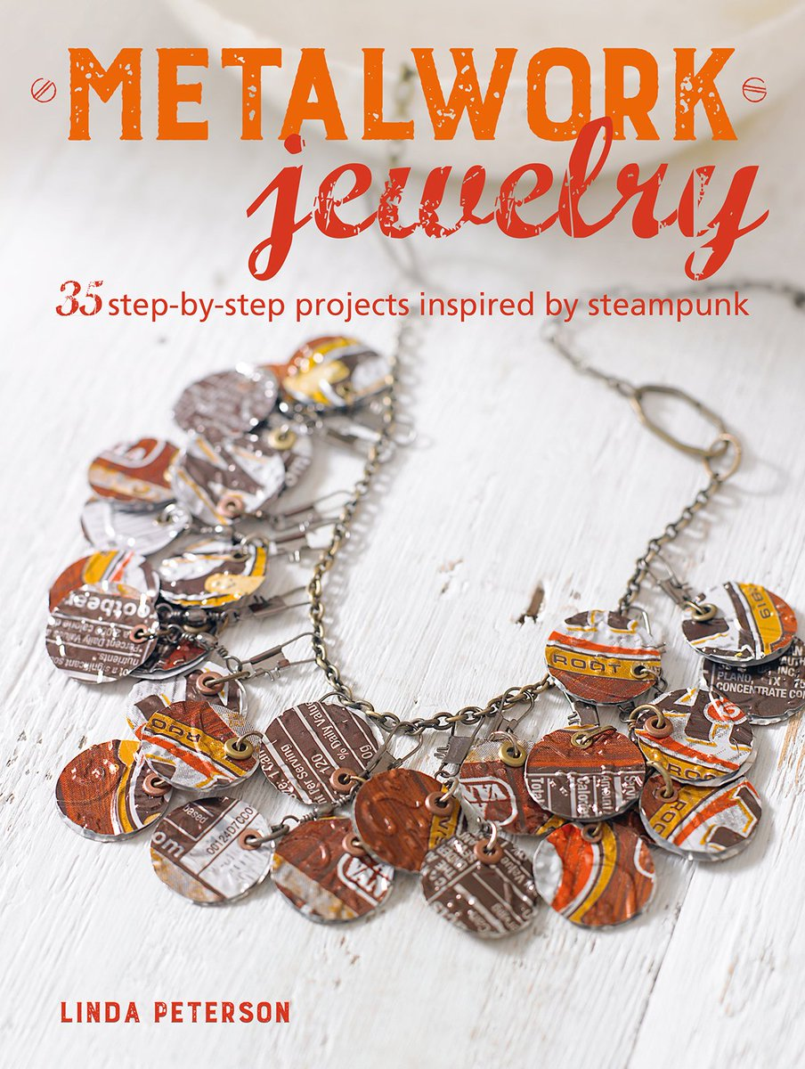 Turn nuts, bolts and old keys into steampunk jewelry with Linda Peterson's guide to working with metal. 'Metalwork Jewelry' is out now! ...