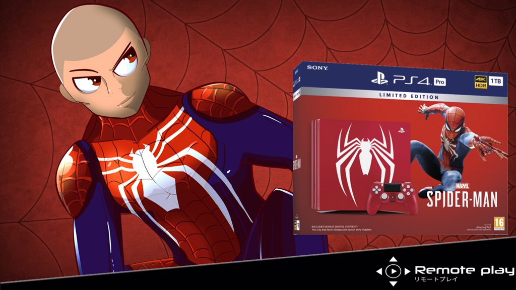 sony marvels spider-man special edition ps4