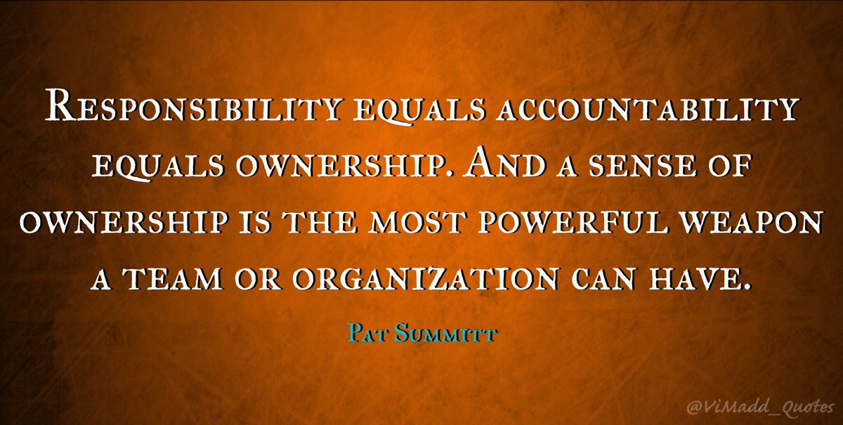 Accountability Quotes | Vincent Maduakor On Twitter Responsibility Equals