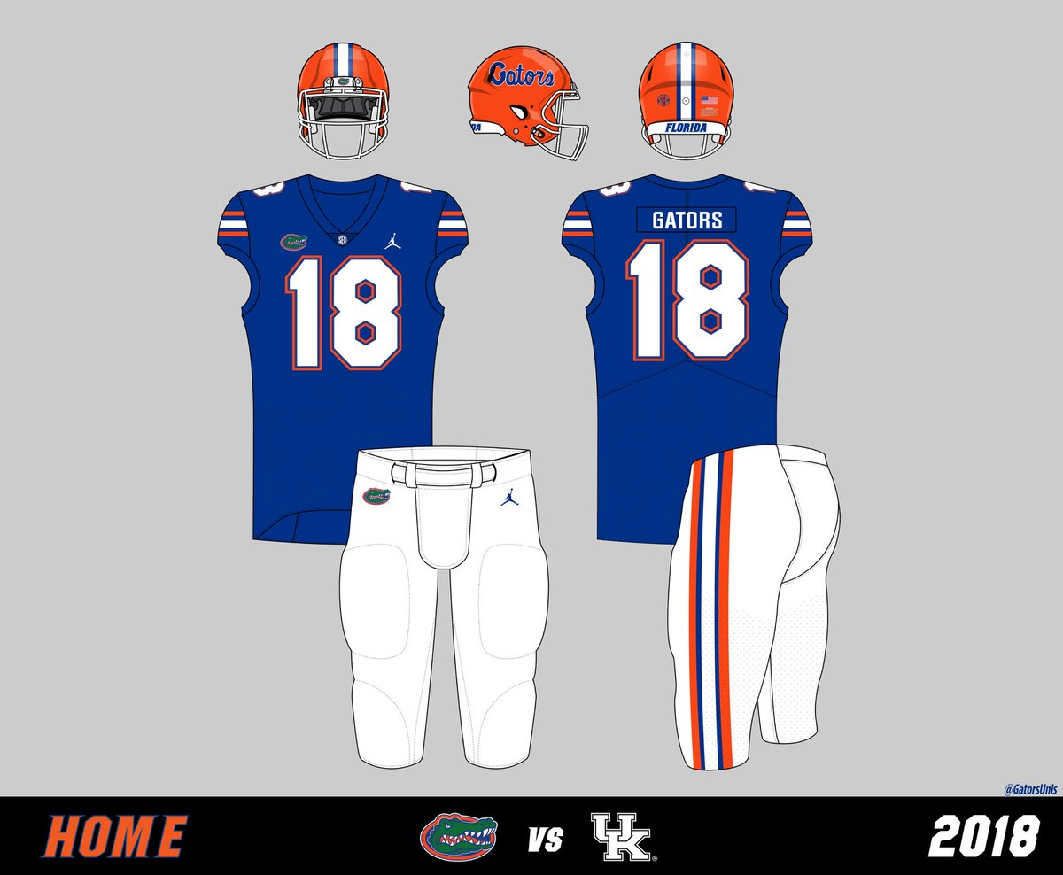 sports shoes da935 8fc58 Gators Uniform Tracker on Twitter: