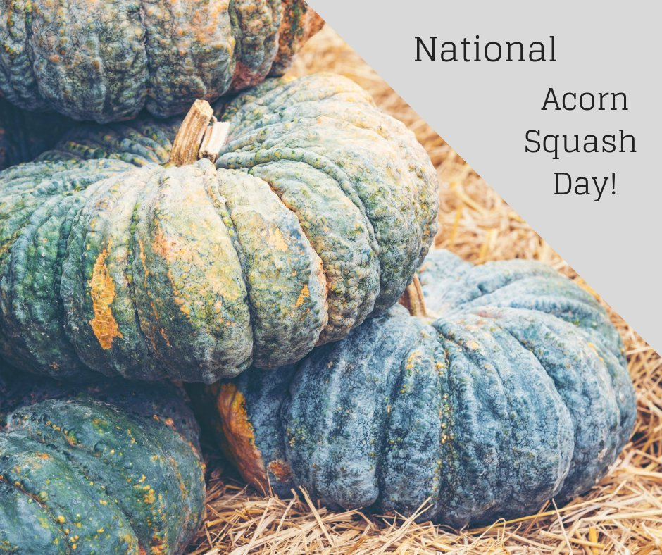 Happy #NationalAcornSquashDay! Easy recipes for my acorn squash lovers: https://t.co/9Aepqs2XEJ https://t.co/jNowtL7Jdf
