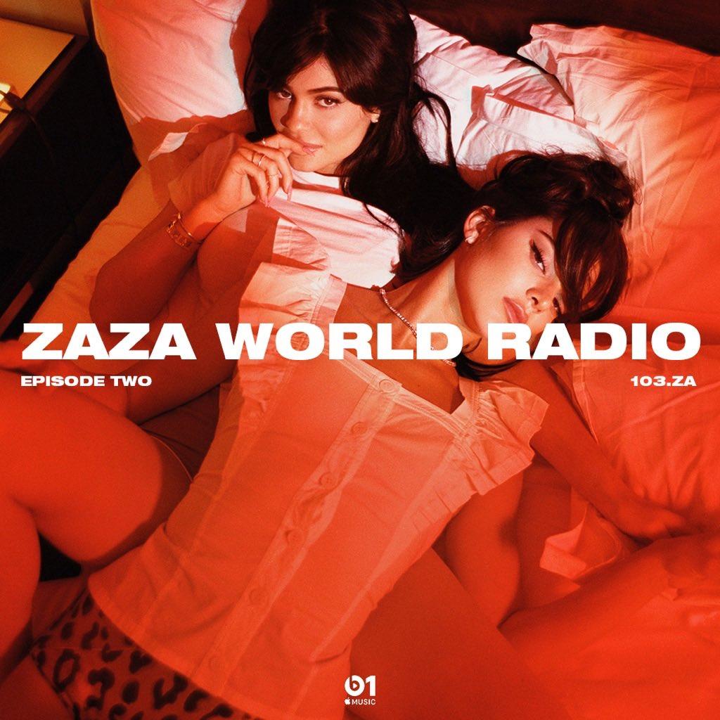 WHOS LISTENING?! apple.co/zazaworldlive