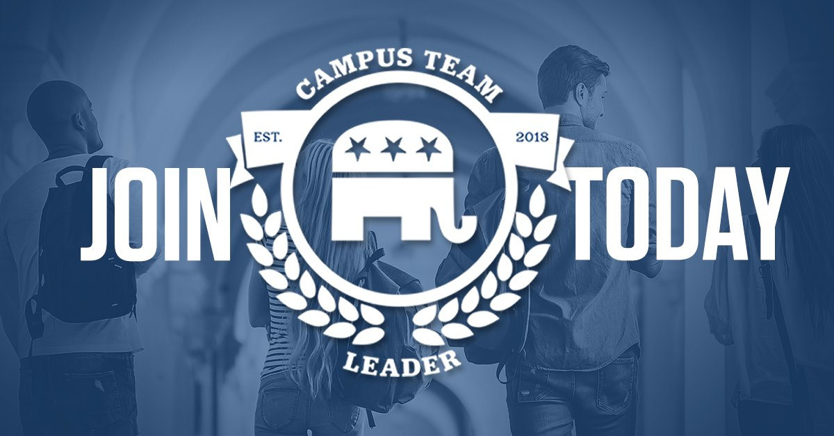 Today is the day! The @GOP Campus Team Leader competition is officially on! Campus Teams across the country will be competing to be the best college activists in the country! Think you got what it takes? Sign up now: gop.com/ctl