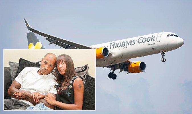 twitter couple on plane