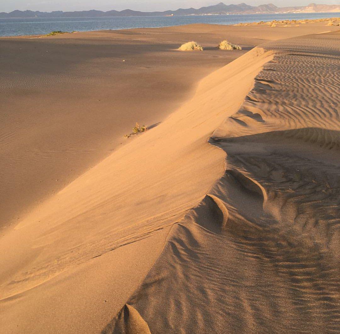 """Raúl J Pérez L on Twitter: """"Parece un set de filmación de #StarWars, pero  son las dunas del #Mogote y la #IslaEspírituSanto respectivamente. Esta  última, área protegida por la #UNESCO; ambas frente"""