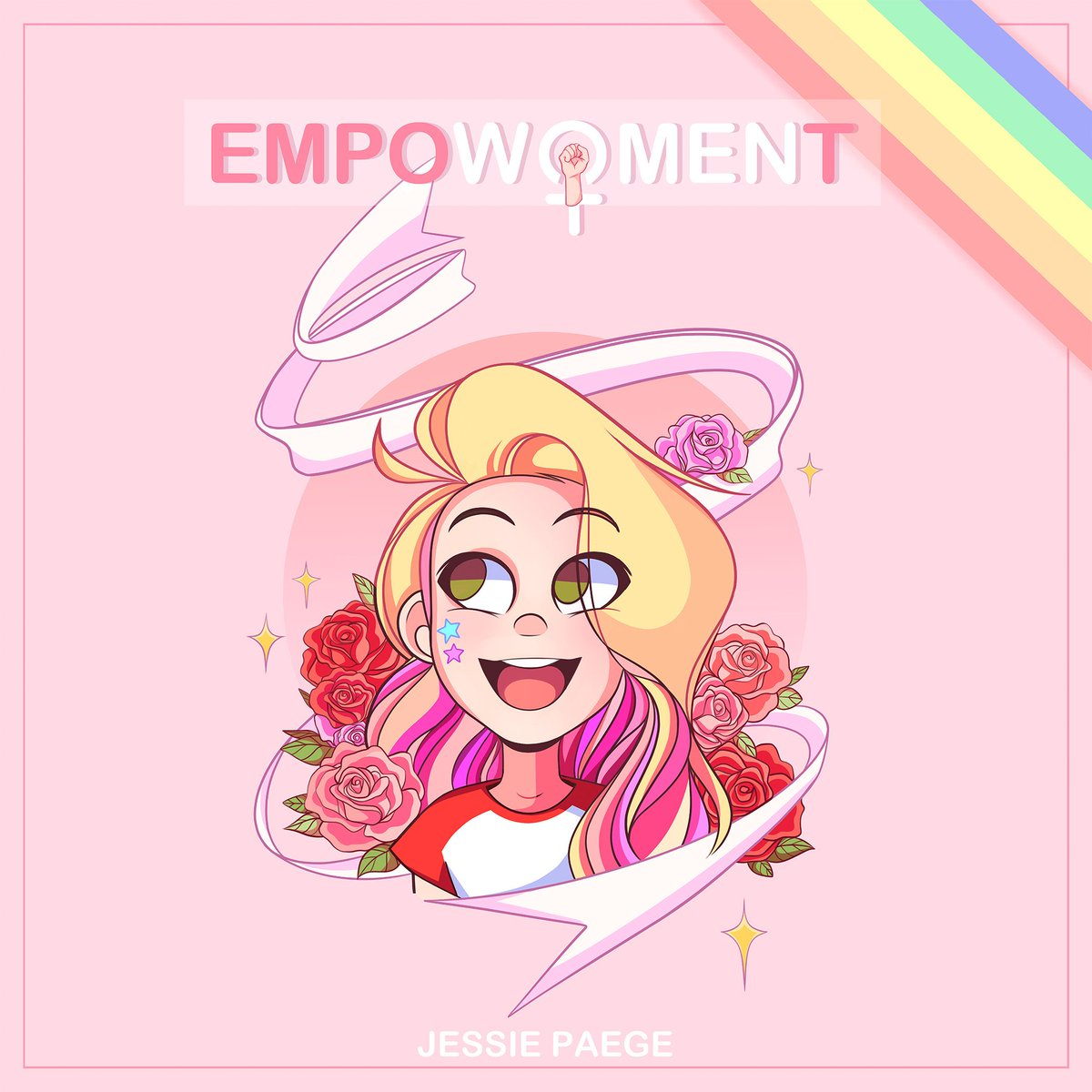 """IT'S OUT! @jessiepaege's compilation """"empoWOMENt"""" featuring all incredible female artists is now available on @iTunes.. enjoy!  https://itunes.apple.com/us/album/empowoment/1429117343?ls=1&app=itunes…"""