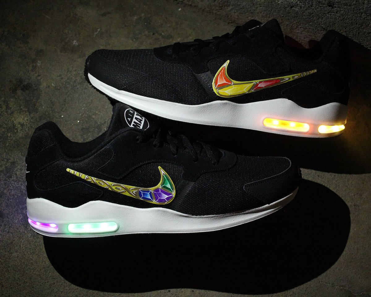 evolved footwear light up shoes on twitter thanos light up nike