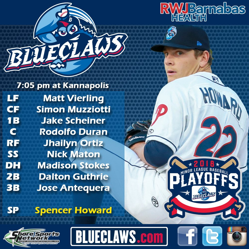 Lakewood BlueClaws on Twitter: