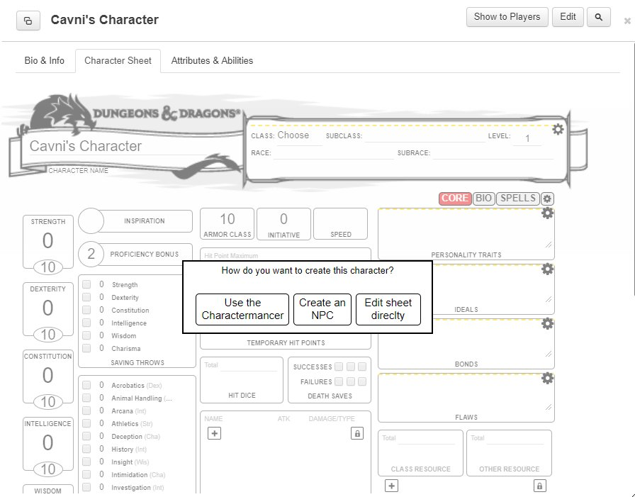 Ammco bus : Roll20 character sheet multiclass