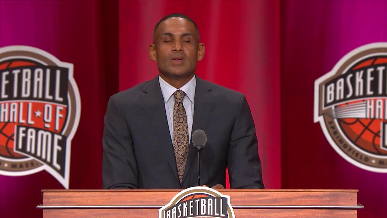 .@realgranthill33 honors Coach K in his @Hoophall induction speech. ��  (Via @NBATV) https://t.co/HNecp5xbi3