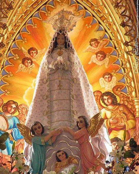 VIRGEN DEL VALLE 8 Sept Ntra Señora del Valle del Espíritu Santo, es una de las principales advocaciones marianas de Venezuela. Es una dulce imagen de 'La Purísima' Fue traída alrededor del 1530, al iniciarse la evangelización de Venezuela https://t.co/BiUn0830Ey