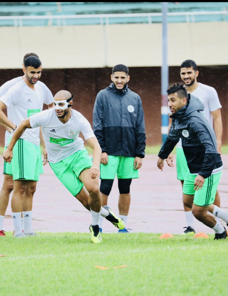 @AdleneGUEDIOURA Pep in training #TeamAlgerie  <br>http://pic.twitter.com/NmrLoZe97F