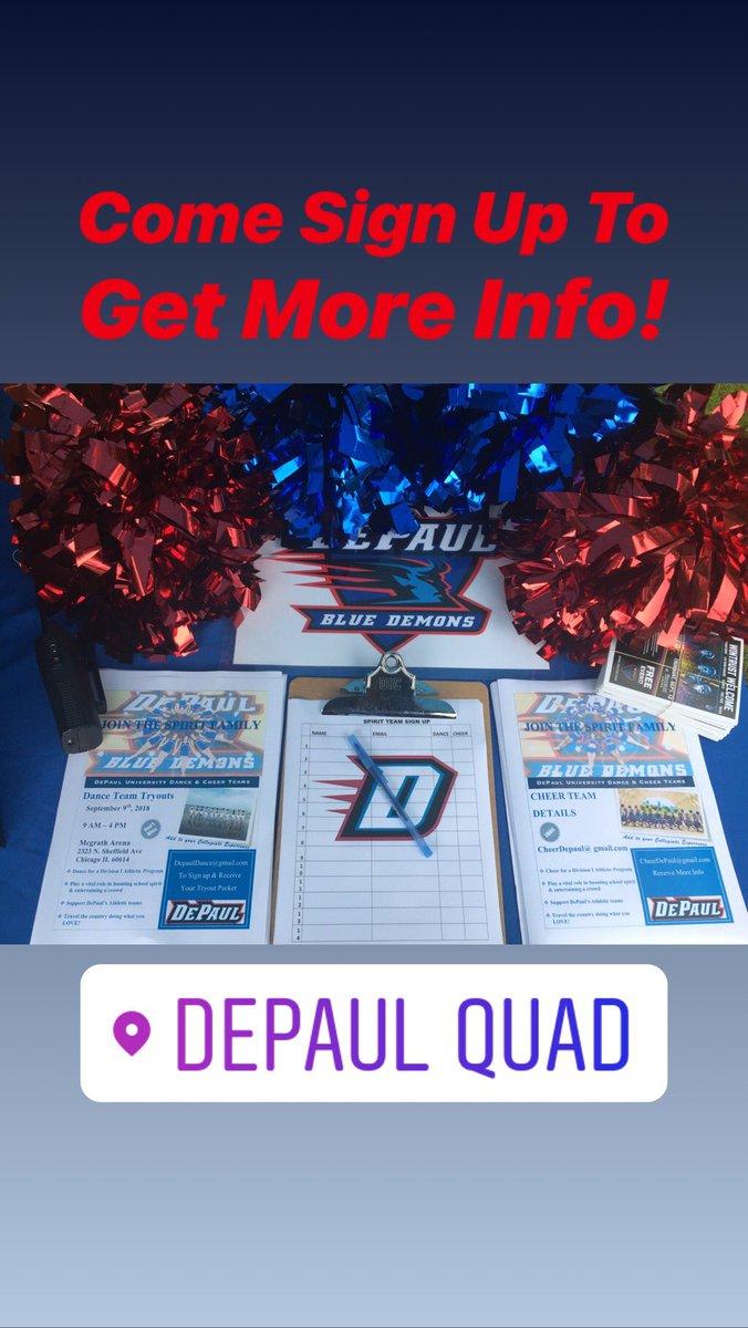DePaul Cheerleading on Twitter: