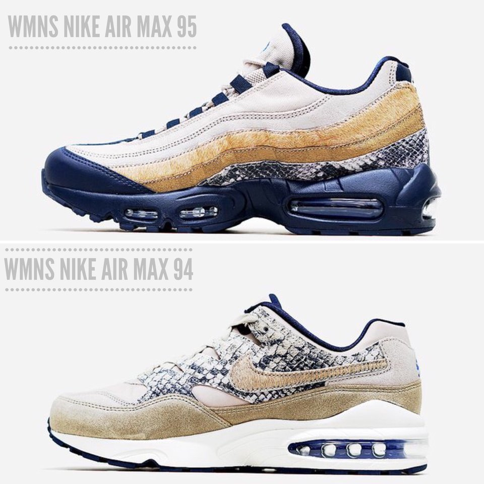 The WMNS Nike Air Max 94 \u0026 Nike Air Max