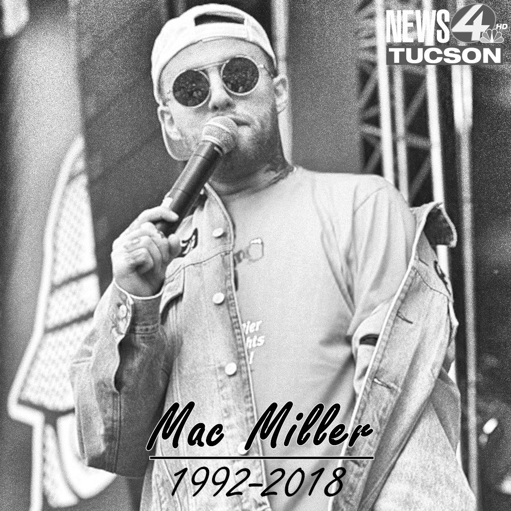 Rest In Peace: Rapper Mac Miller has reportedly died from an 'apparent drug overdose.'